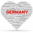 I Love Germany - Stock Vector