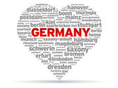 I Love Germany — Stock Vector