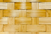 Woven bamboo panel — Stock Photo