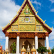 Church of Thai temple in north-east of Thailand — Stockfoto
