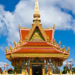 The Mondop Housing at the temple in Ubonratchathani,Thailand — Stock Photo