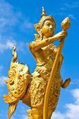 "Thai style statue ""Kinnari"" Thailand. — Stock Photo"
