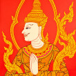 Stock Photo: Thai painting art