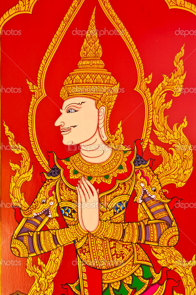 Thai painting art — Stock Photo #6991769