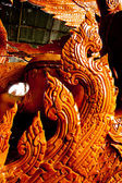 Thai style molding art in Candle Festival at Ubonratchathani — Foto Stock