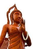 Buda balmumu heykeli ubonratchathani mum festivali — Stok fotoğraf
