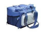 Blue cooler bag — Stock Photo