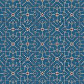 Star seamless pattern — Stock Vector