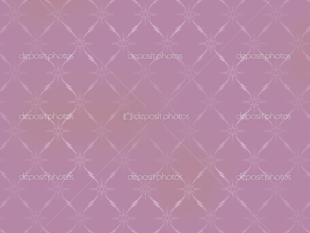 Vintage Wallpaper - Ornaments on Light Pink Background — Stock Vector #6944992