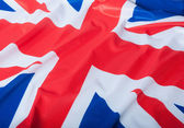 National Flag of Great Britain — Stock Photo