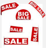 Sale Signs — Wektor stockowy