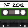 Audio Cassette Tape 2012 - Stock Photo