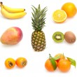 Collection of Tropical Fruits — Stock Photo #7670285