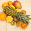 Tropical Fruits — Stock Photo #7670335