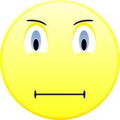 Sad emoticon — Stock Vector