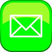 Vector Mail Button — Stockvektor