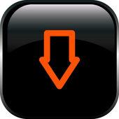 Vector arrow button — Stock Vector