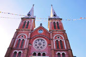 St mary notre dame cathedral, saigon, vietnã — Fotografia Stock