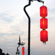 Stock Photo: Red lanterns
