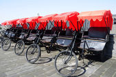 Rickshaws in Xian — Stock Photo