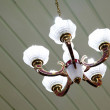 Beautiful chandelier in a room — Stock Photo