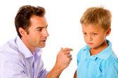 Ojciec i syn — Zdjęcie stockowe