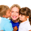 Mother with children — Stock Photo #7482066