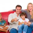 Family with two children — Stock Photo #7486404