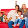 Family with two children — Stock Photo #7486436