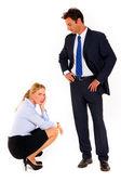 商人和女商人 — 图库照片