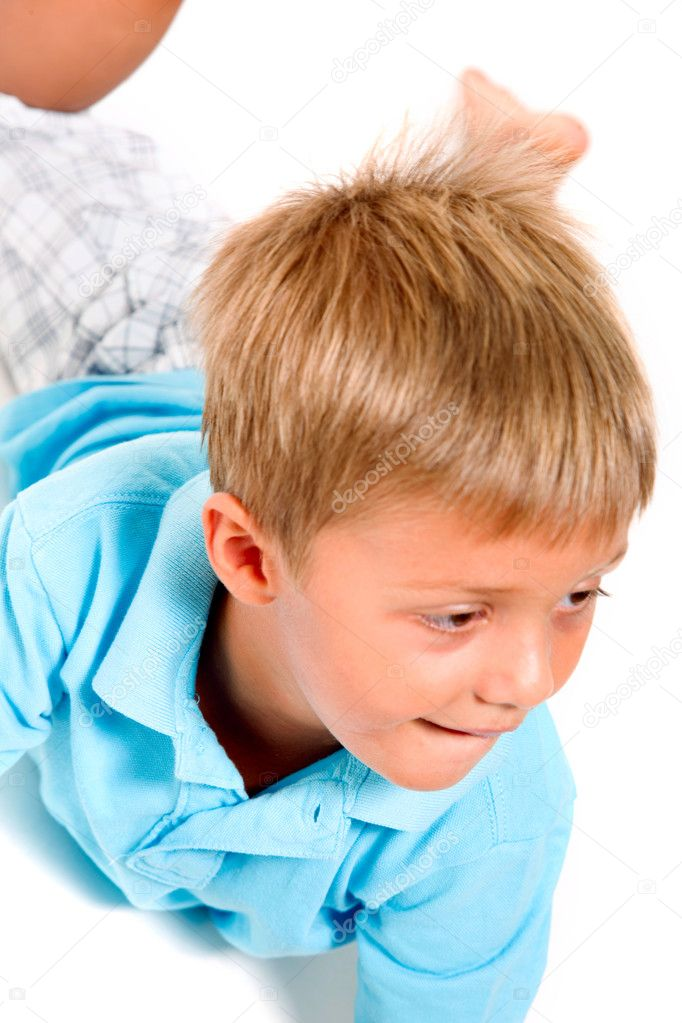 Little boy — Stock Photo #7486165