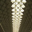 Stock Photo: Roof of Dome Tunnel Structure with Natural Light Portrait Pictur