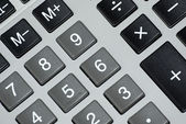Boutons de la calculatrice. — Photo