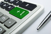 Calculator isolated with clipping path 8527 — Stock Photo
