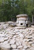 Dolmens near Black Sea. Made of stone 5000 years ago. — Stock Photo