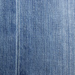 Blue jeans ad abstract textured background. — Stock Photo