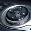 Modern control interface. Interior of luxury japanese car. — Stock Photo #7947945