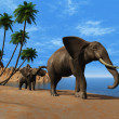 Elephants. — Stock Photo #6943159