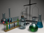 Chemical devices — Stock Photo