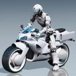 Motorcyclist — Stock Photo #7561174