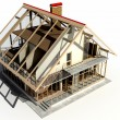 Model of a house — Foto de Stock