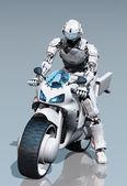 Motorcyclist — Stock Photo
