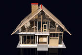 Model of a house — Foto Stock