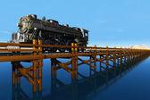 The train — Stock Photo