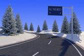 La carretera — Foto de Stock