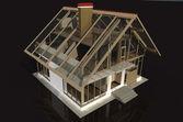 Model of a house — Stock fotografie