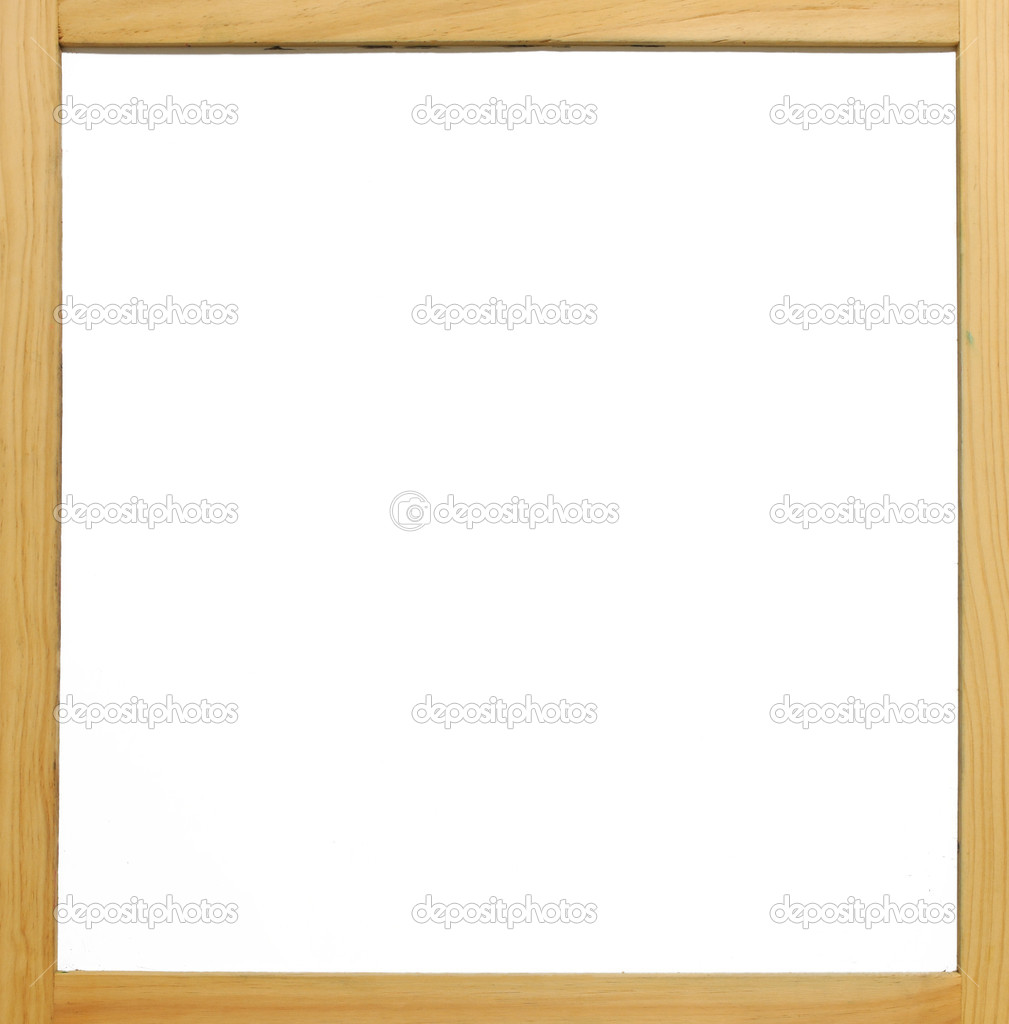 Plain Wooden Frame Wooden Frame White Board With