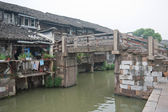 China ancient building in Wuzhen town — Stock Photo