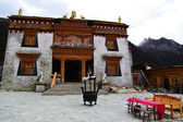 Tibetan Buddhist temple — Stock Photo