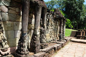 Cambodia - Angkor - Terrace of the Elephants — Stock Photo